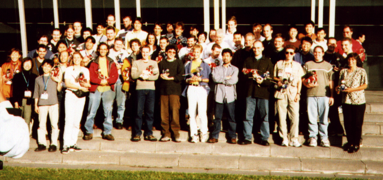 RoboCup 2000 Team Photo