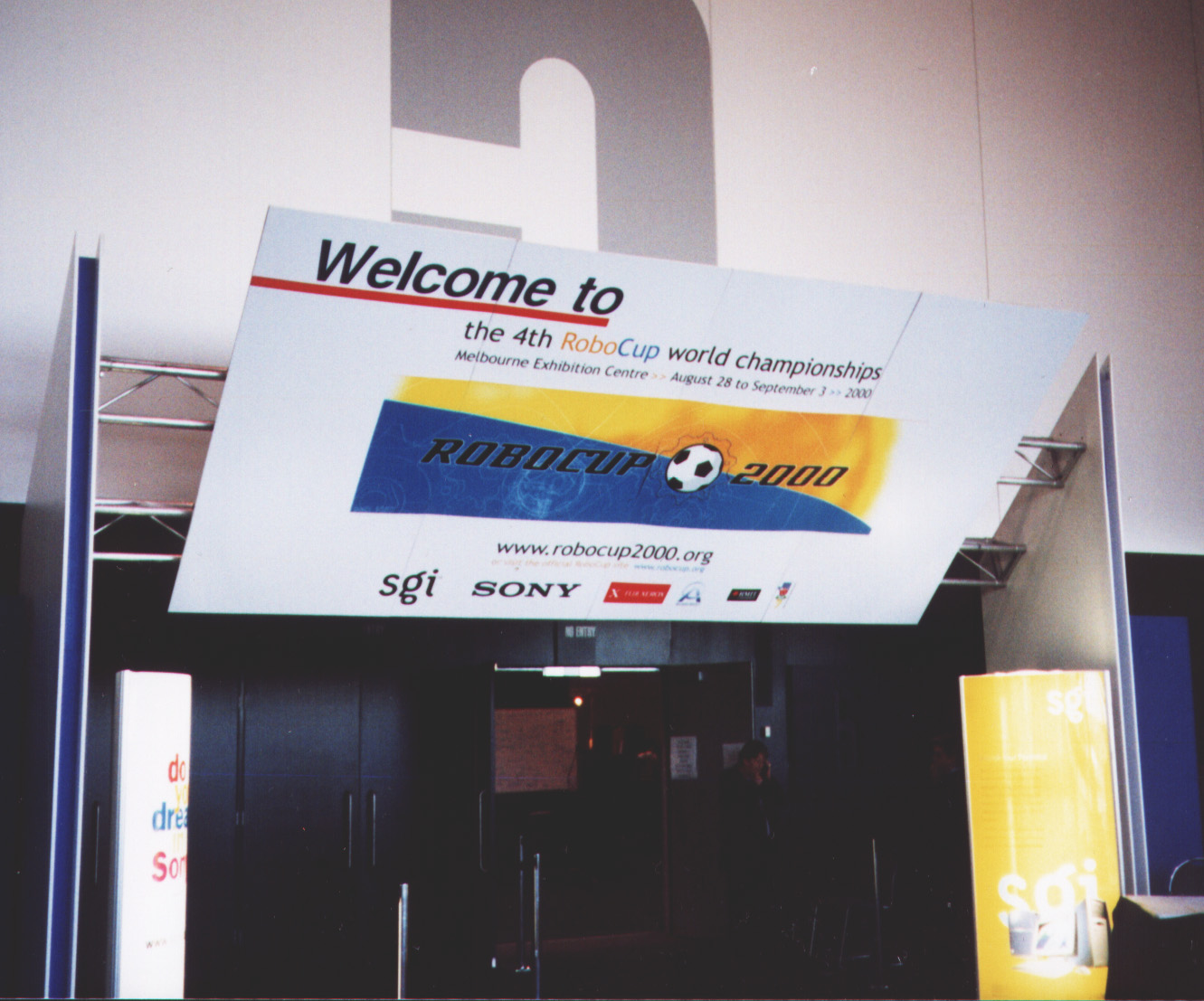 Entry to RoboCup 2000